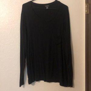 NWOT Black Long Sleeve
